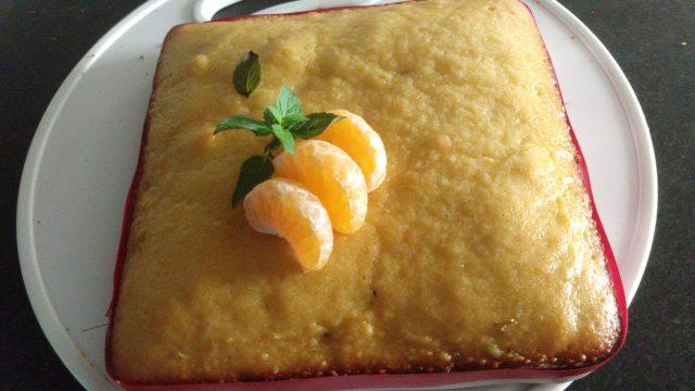 Torta de mandarina